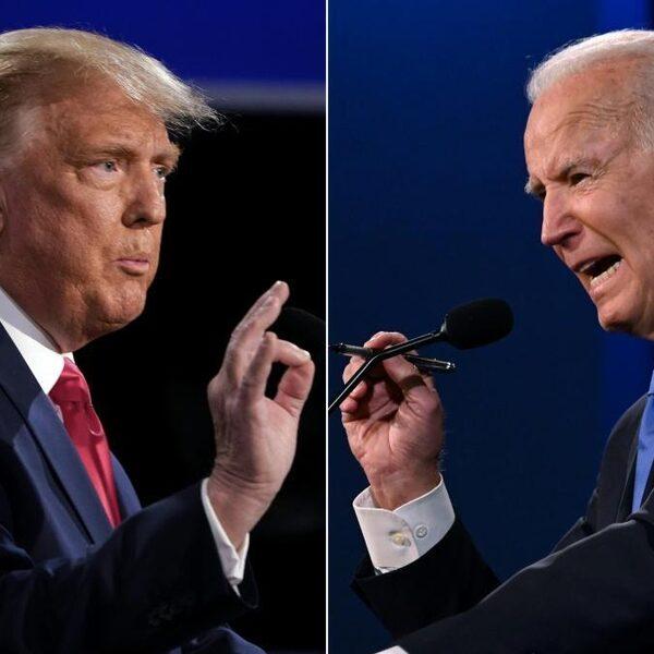 Laatste debat Trump en Biden: 'Ze lieten elkaar dit keer wel uitpraten'