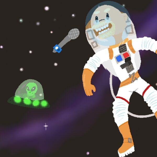 Nieuwe ruimtepodcast: Zimmerman in Space