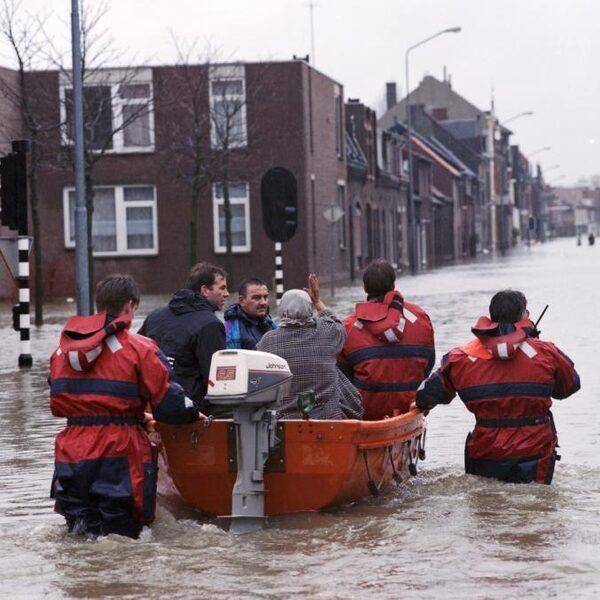 Hoog water in Nederland: de ramp in 1995 zorgde voor nieuwe natuur