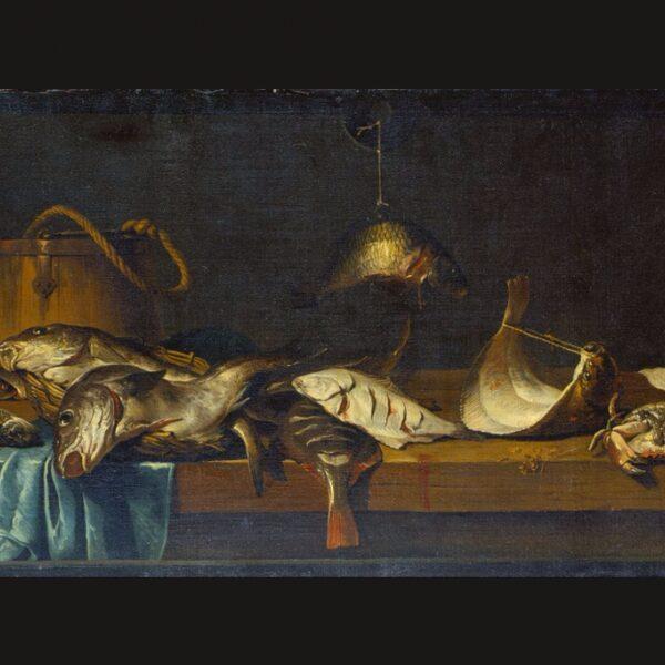 Vissen van de geschiedenis: herken jij de vissen op het schilderij?