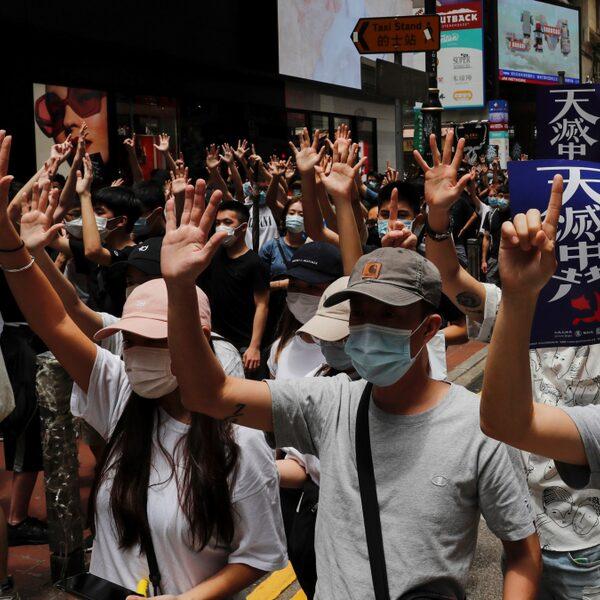 VS ziet Hongkong niet langer als autonome Chinese regio