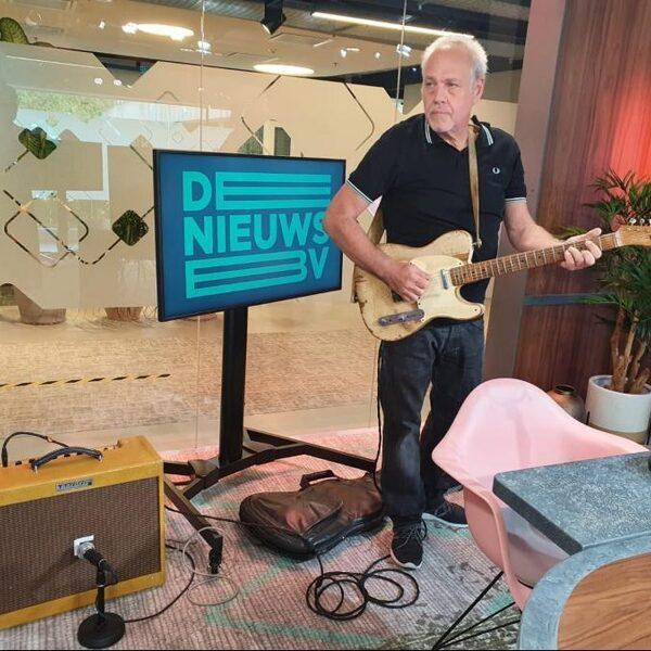 Cok van Vuuren over zijn Telecaster: 'Je weet gewoon, met deze gitaar lukt het'