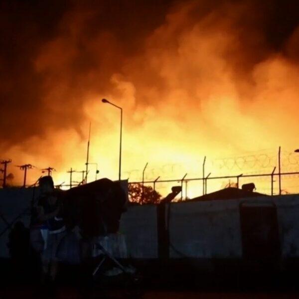Meerdere branden uitgebroken in Grieks migrantenkamp Moria