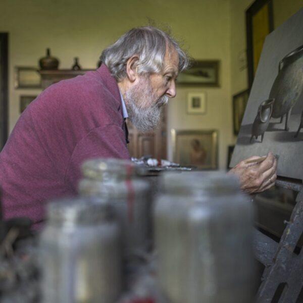 Henk Helmantel: 'Soms raak ik zelf in de war van mijn werk, of het echt is of geschilderd'