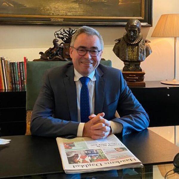 Koning belde streng beveiligde burgemeester om steun te geven: 'erg prettig'