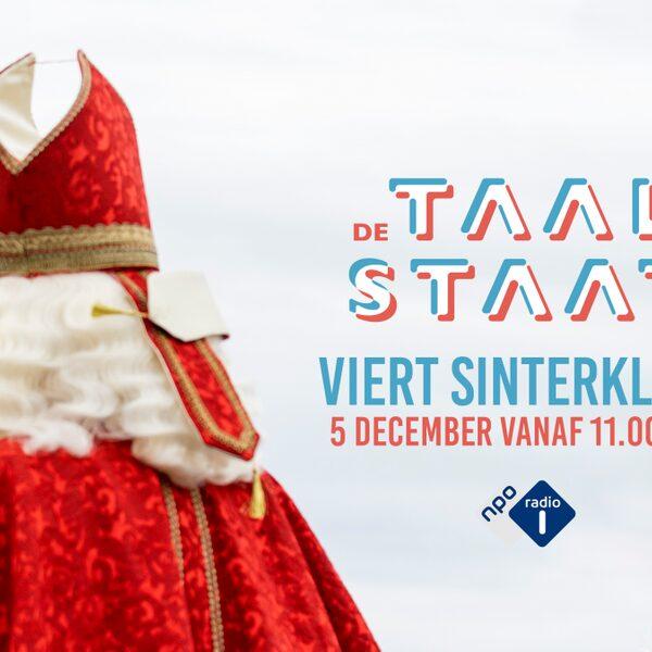 De Taalstaat viert Sinterklaas met de mooiste gedichten en rijmen