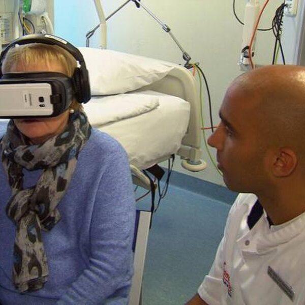 Met virtual reality de nare ervaring op de intensive care verwerken