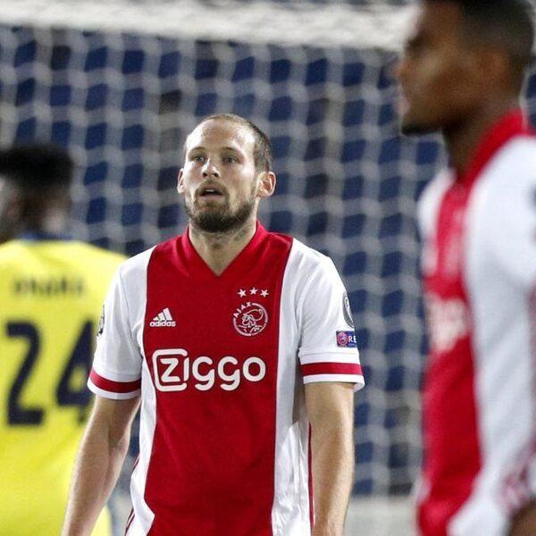 Ajax geeft 2-0 voorsprong weg en speelt gelijk bij Atalanta