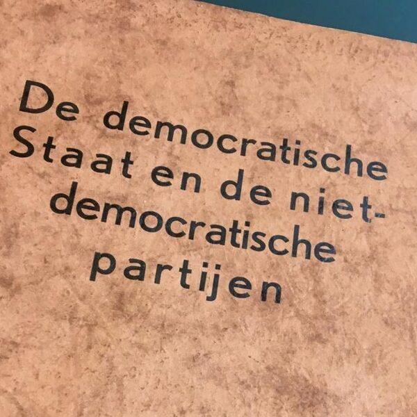 'In een democratie moet je altijd iets kunnen terugdraaien'