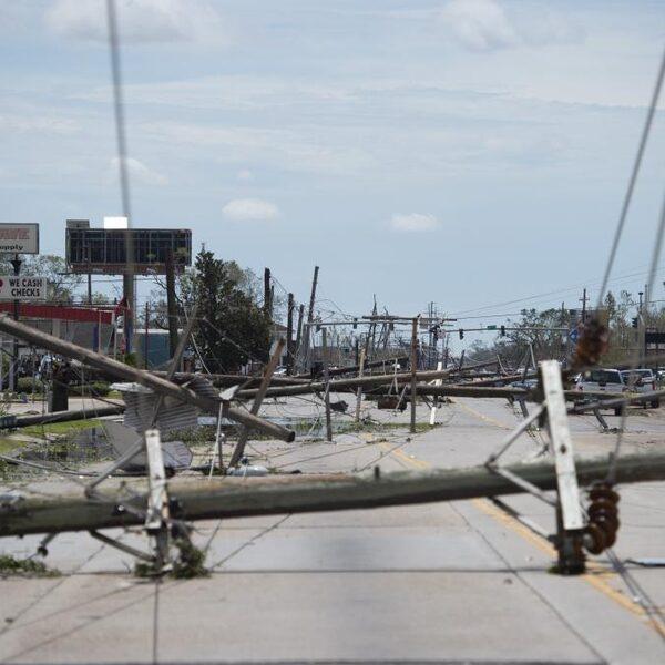 Orkaan Laura veroorzaakt minder schade dan gevreesd in Louisiana
