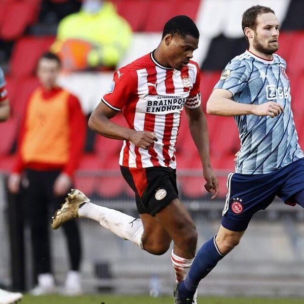 PSV geeft voorsprong in tumultueuze slotfase weg, Tadic schenkt Ajax een gelijkspel