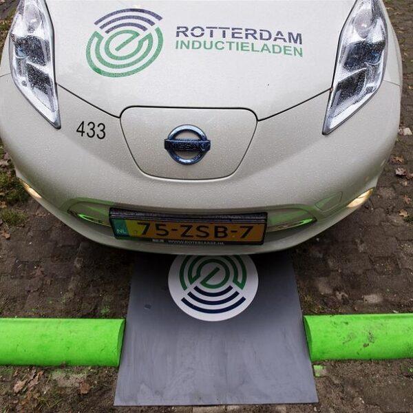 Laad je binnenkort je elektrische auto draadloos op?