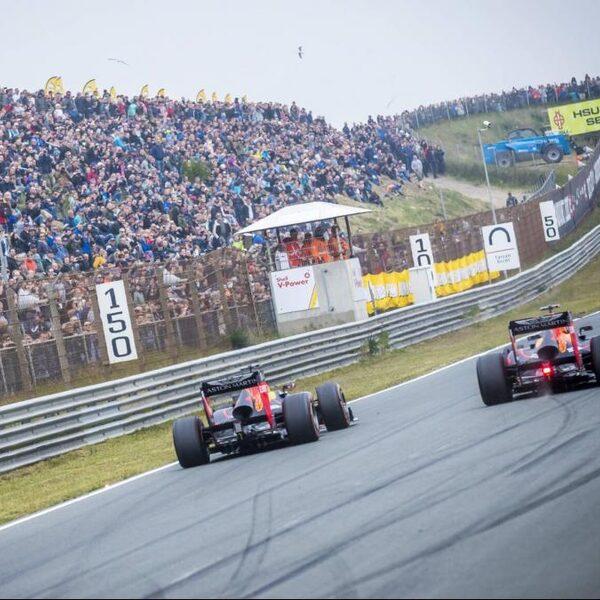 Conceptagenda Formule 1: GP van Nederland naar 3 mei 2020