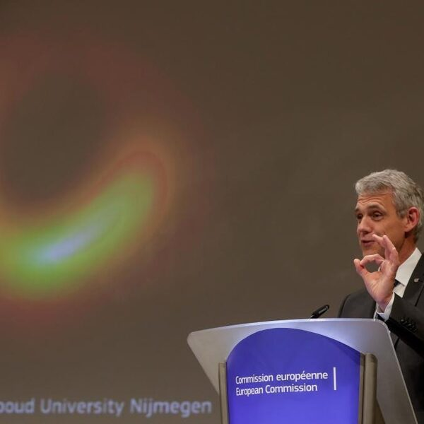 Heino Falcke deelde foto zwarte gat met 4,5 miljard mensen