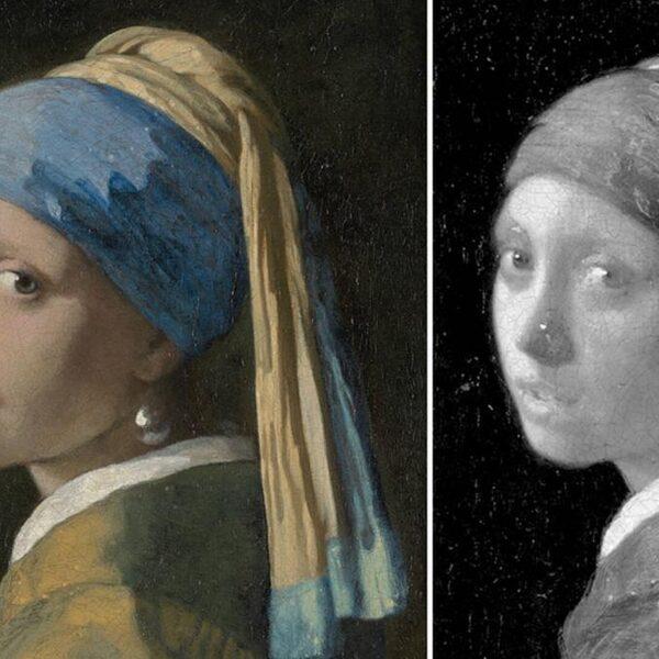 Meisje met de parel van Vermeer blijkt wimpers te hebben