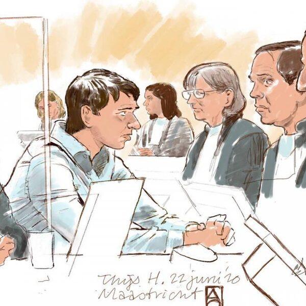 Thijs H. krijgt 18 jaar cel en tbs met dwangverpleging voor drie moorden