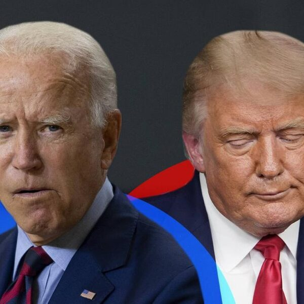 Eerste debat Trump en Biden is veel schelden, chaos en in de rede vallen