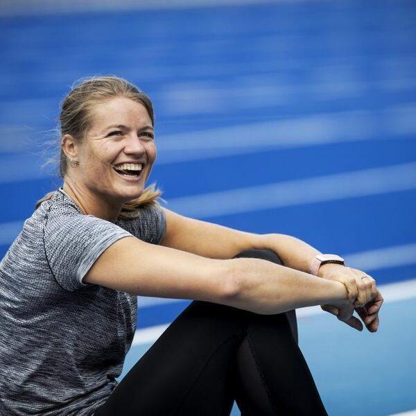 Dafne Schippers weer terug op de atletiekbaan