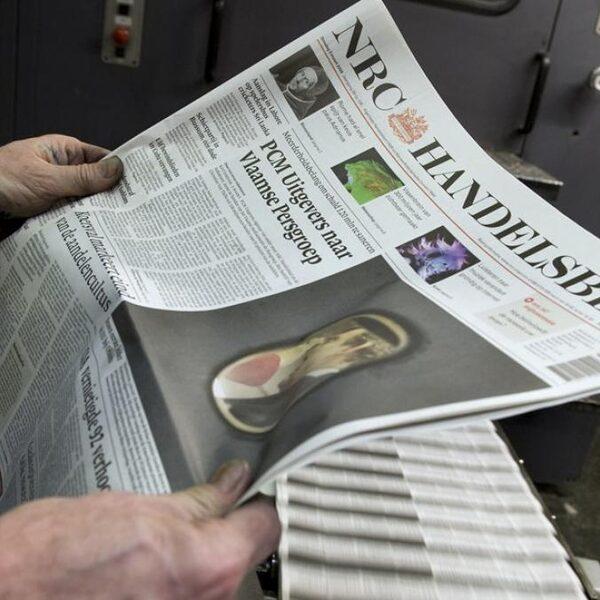 50 jaar NRC: 'Columnisten zijn de stotteraars van de krant'