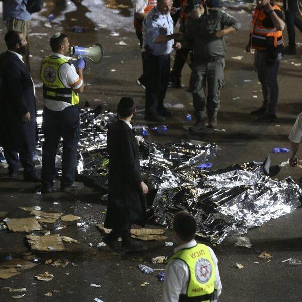 Tientallen doden door verdrukking bij religieus feest Israël