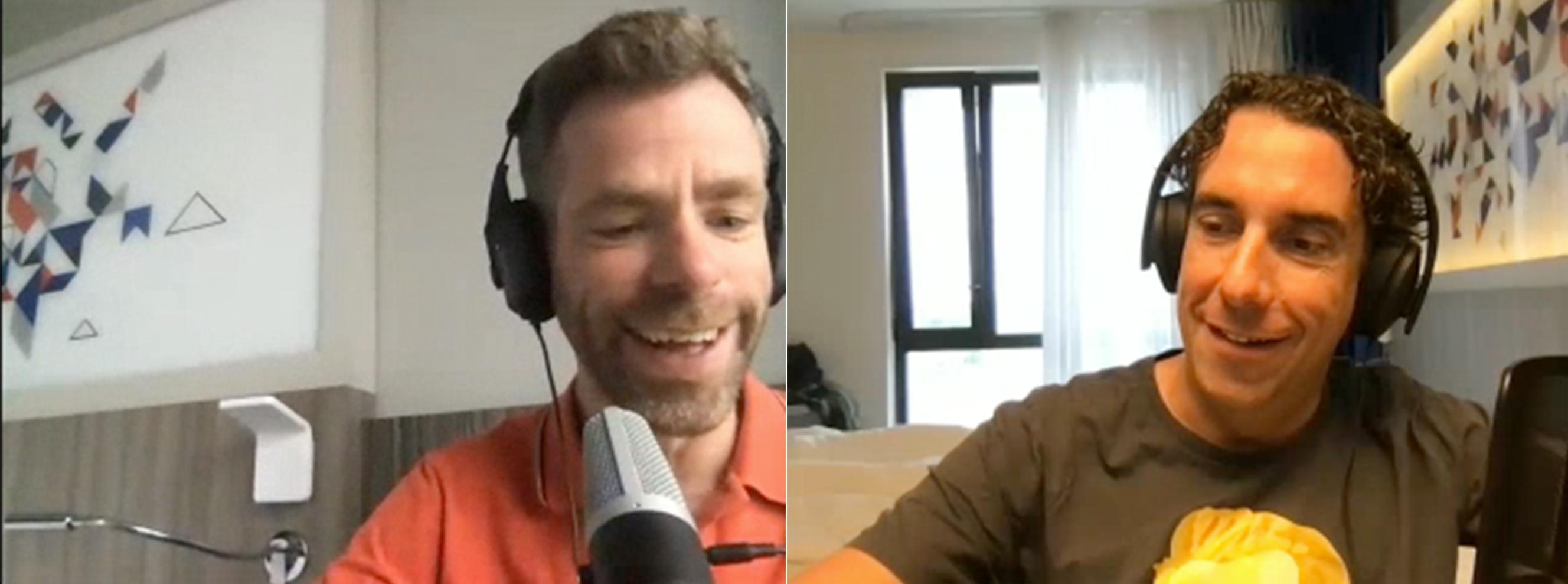 Bram en Martijn zitten in hetzelfde hotel in Toulouse