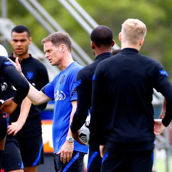 Vertrouwen in Nederlands elftal en coach Frank De Boer op EK is laag