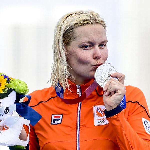 Sharon van Rouwendaal: 'op een slimme manier naar zilver gezwommen'