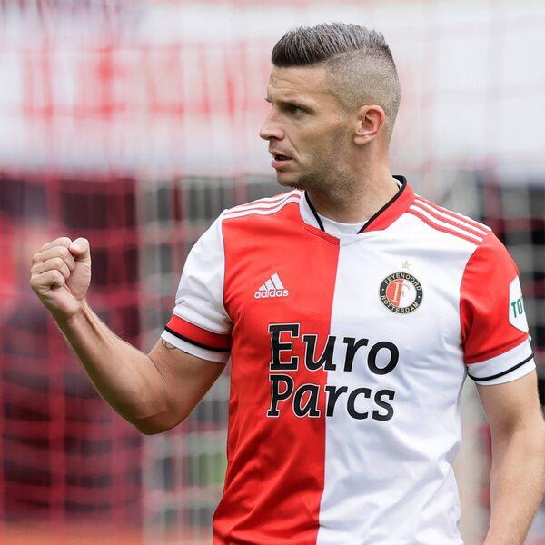 Bryan Linssen maakt Feyenoordlegioen blij met twee treffers