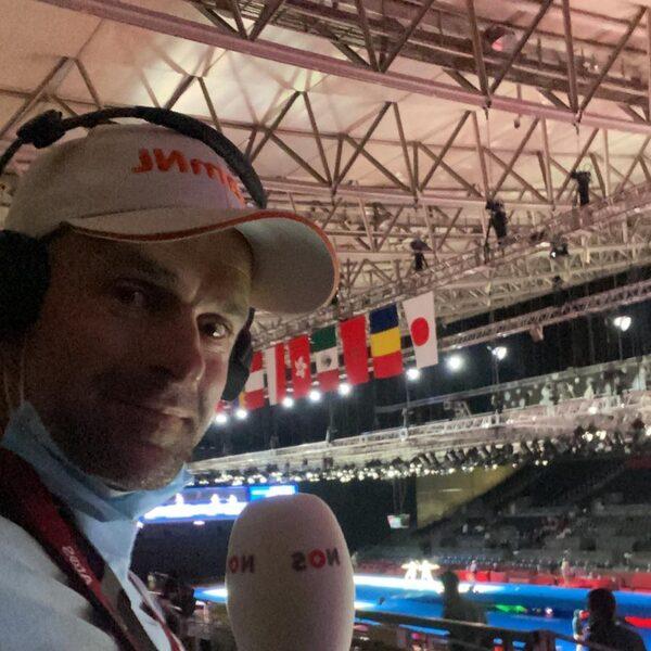 Erben Erbij: alleen in de paardenbak bij een sport waar hij zich thuis voelt