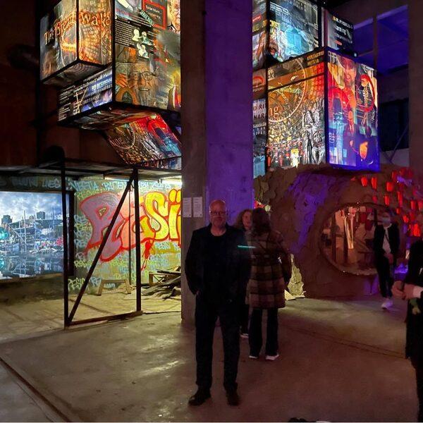Kunstenaar Rob Voerman bracht alle gekte van het internet samen in een kunstwerk