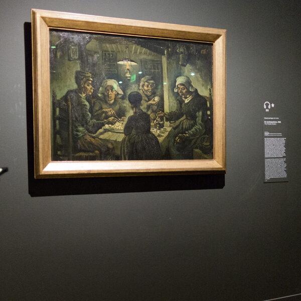 Van Gogh wilde met De Aardappeleters zijn grote entree maken, het liep anders