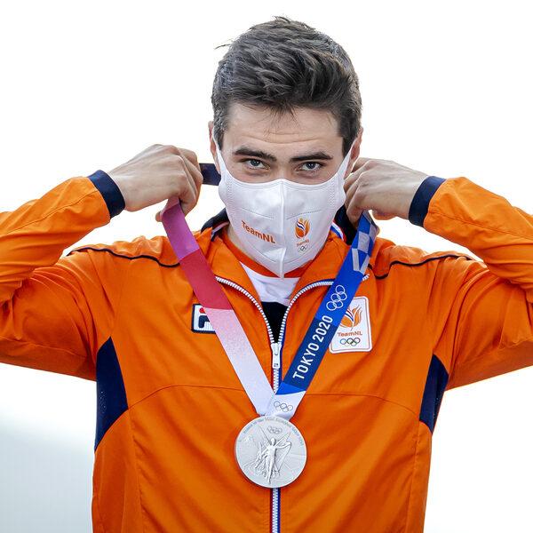 Erben Erbij: 'Dumoulin heeft het plezier hervonden met de olympische medaille'