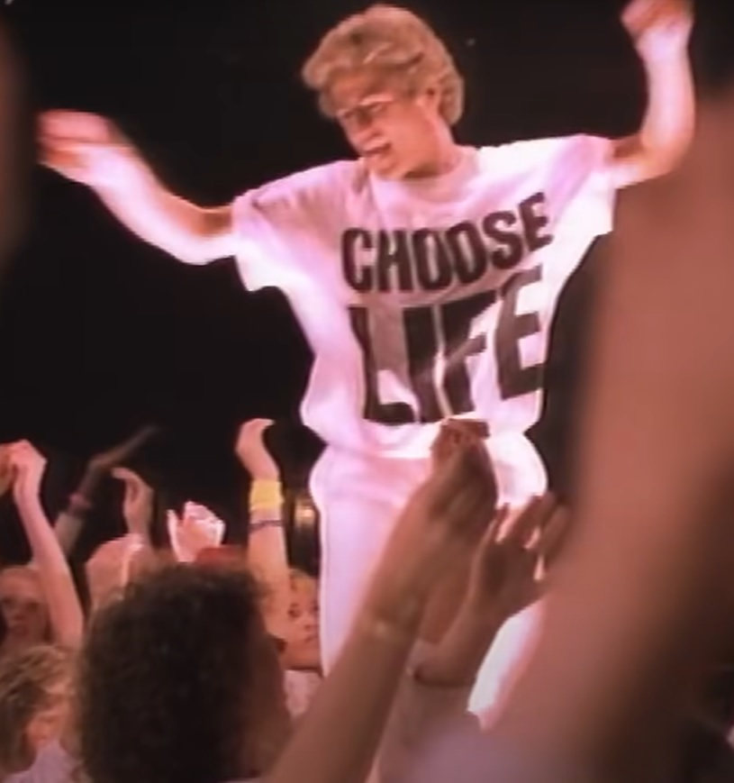 Chooselife shirt