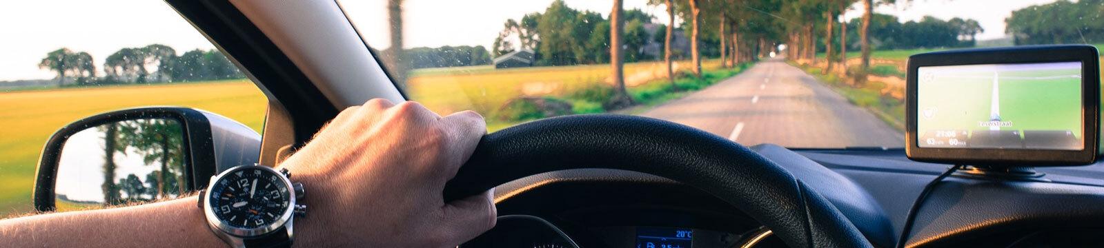 Auto rijden inline
