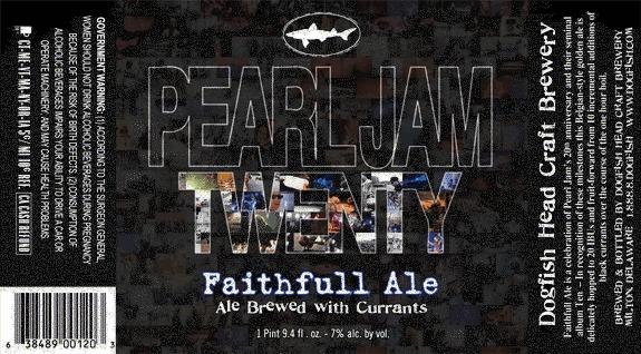 Pearl jam bier