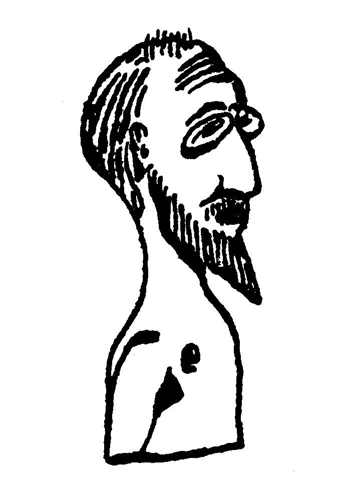 Een zelfportret van erik satie wikimedia commons
