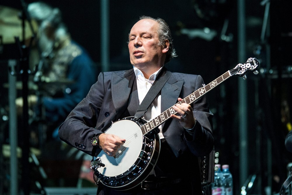Hans Zimmer op een concert in Boedapest in 2016