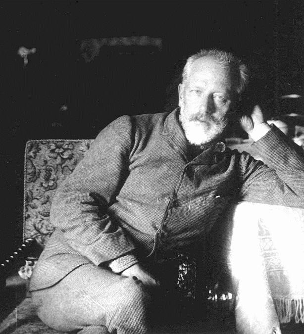 Tsjaikovski in 1890