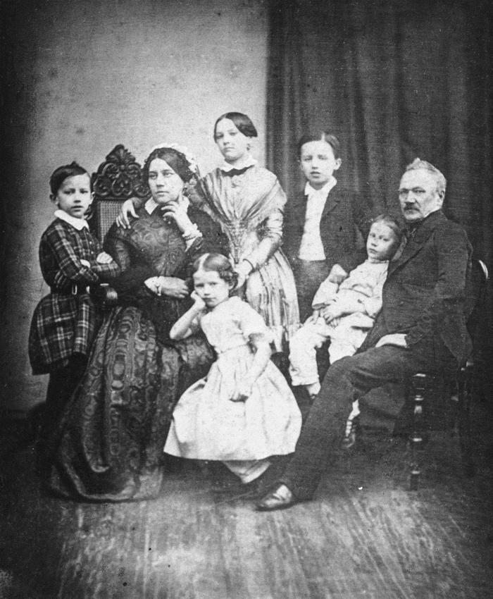 Tsjaikovski met zijn familie