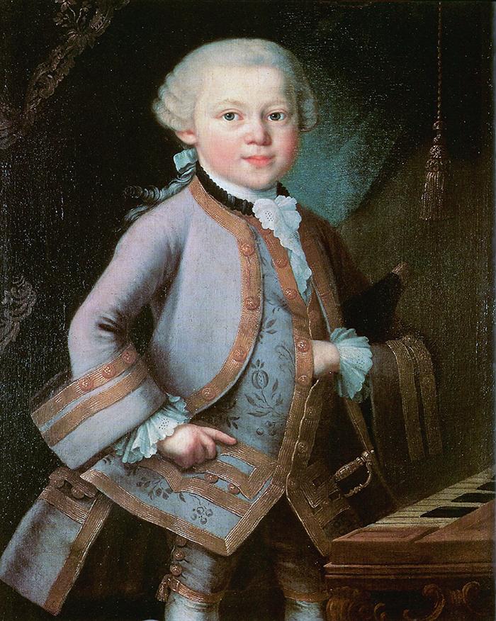 Wolfgang amadeus mozart als zesjarige jongen wikimedia commons