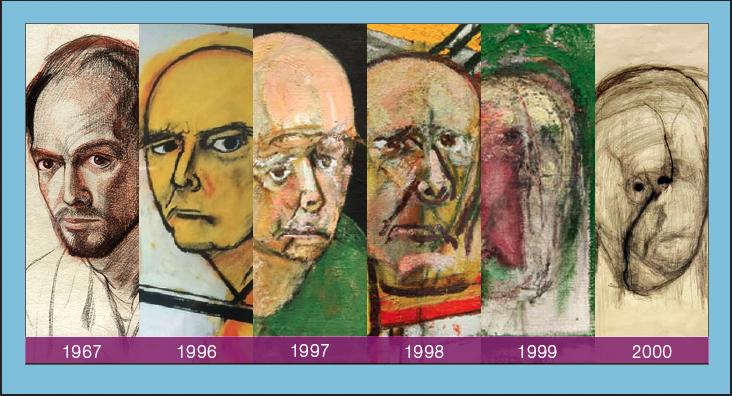 evolutie of portraits