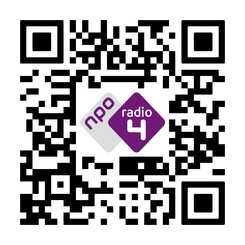 WhatsApp QR code NPO Radio 4