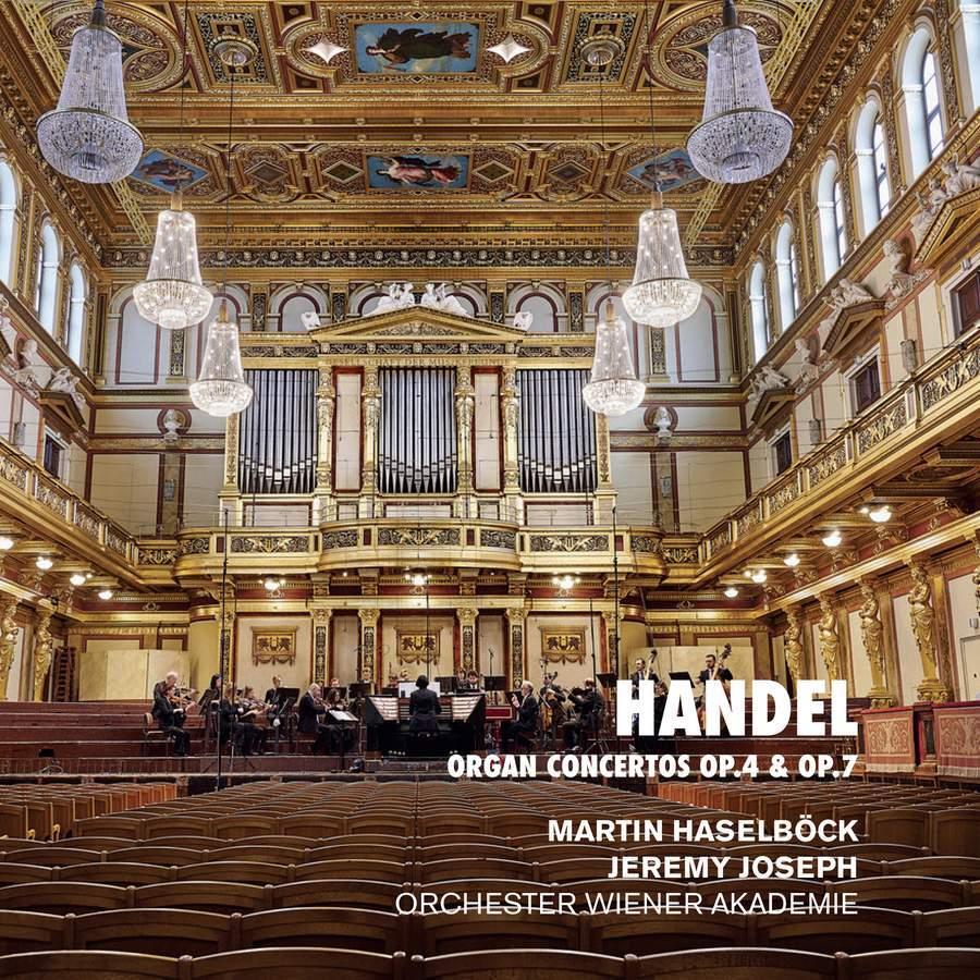 Händel - Orgelconcerten