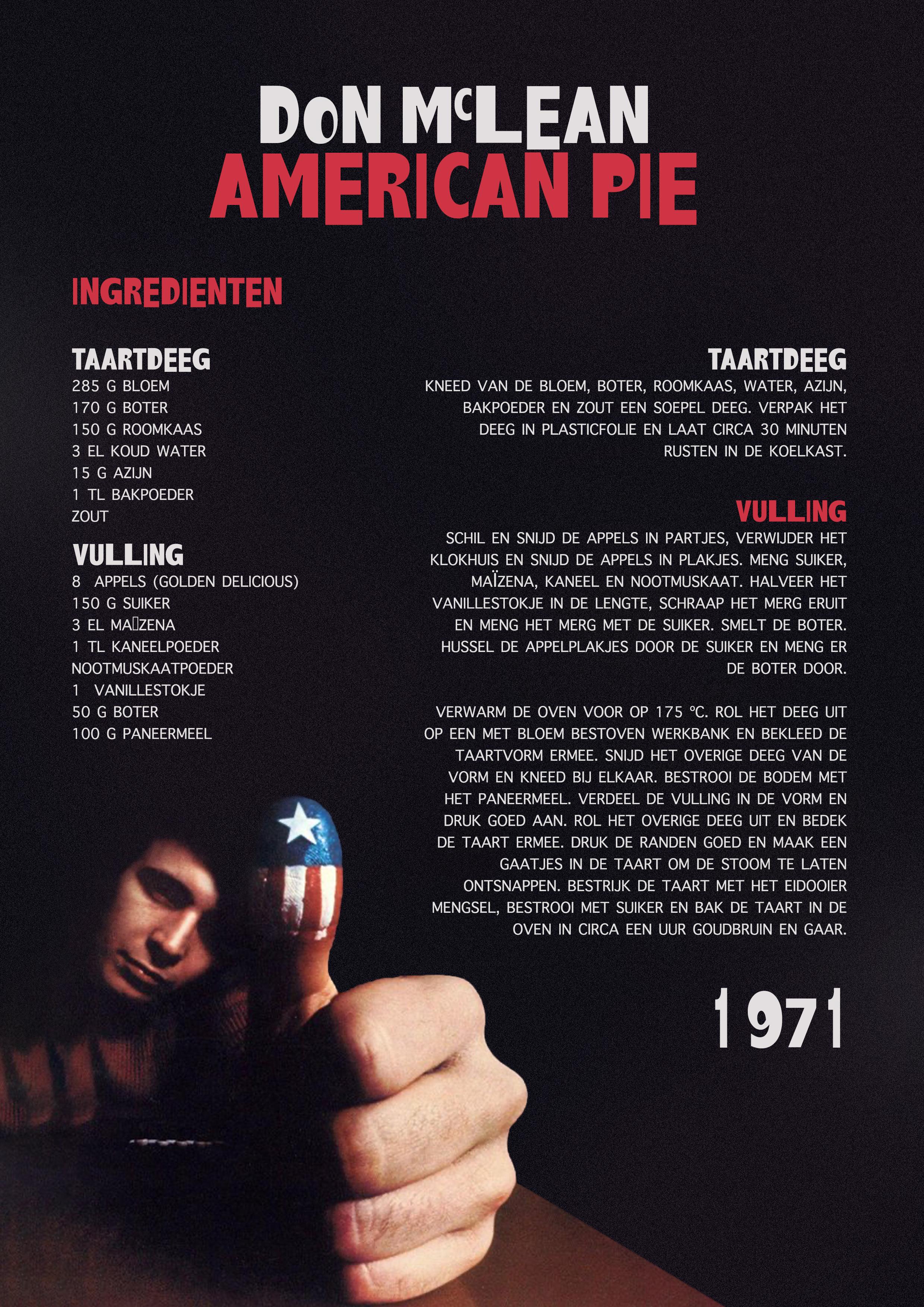 American Pie liggend
