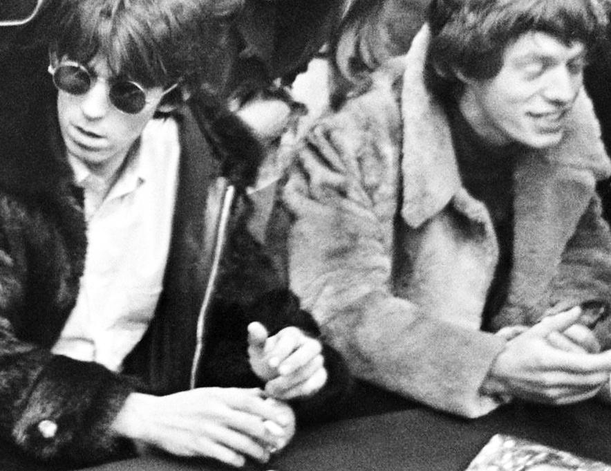 Rolling Stones at Schiphol 1966 Jagger Richards