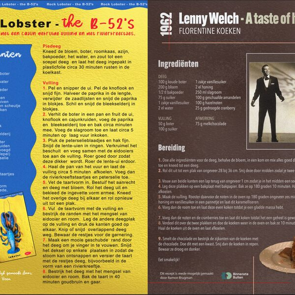 Rock Lobster en A taste of Honey