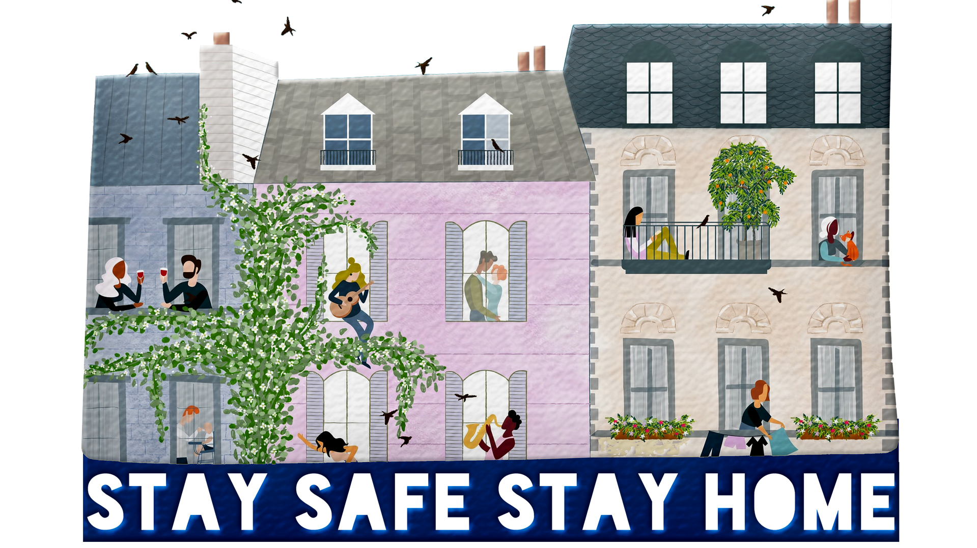 Stay home stay safe 5166519 1920
